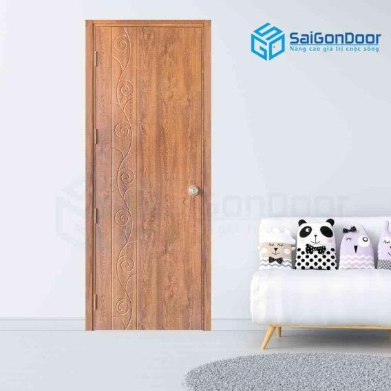 Cửa thông phòng bằng gỗ là sự lựa chọn tuyệt vời cho công trình